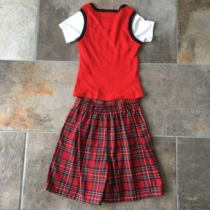 Matching Sets - Vintage girls plaid set